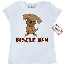 Inktastic Puppy Rescue Mom Dog Women's T-Shirt Dogs Animal Puppies Pet Shelter