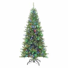 Color Changing Full Pre-lit Ozark Pine Christmas Tree by Sterling Tree Company