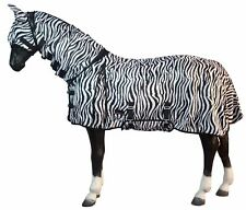 Lightweight Horse Combo Breathable Turnout Fly Rug with Neck/Belly  - FREE Mask