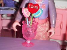 Rement Valentines Lollipops fits Fisher Price Loving Family Dollhouse