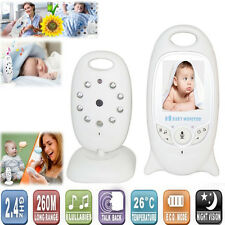 2inch LCD Digital Wireless Baby Monitor Camera Wifi Night Vision Audio Video