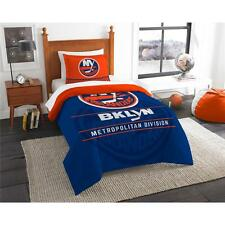 NHL New York Islanders Licensed Hockey Sports Fan Comforter Sham Set Bedding