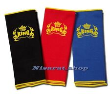 TOP KING  ANKLE GUARD TKANG-01 SUPPORTS PROTECTOR MUAY THAI BOXING MMA FREE SHIP