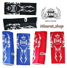 TOP KING ANKLE GUARD TKANG-02 SUPPORTS PROTECTOR MUAY THAI BOXING MMA FREE SHIP