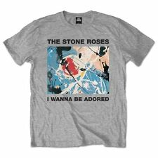 The Stone Roses T Shirt I Wanna Be Adored Officially Licensed Mens Rock Merch