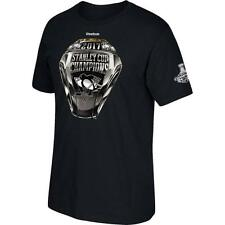 PITTSBURGH PENGUINS 2017 Stanley Cup Champs Reebok Ring T-Shirt - Black