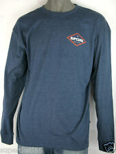 Rip Curl Long SleeveT Shirt Rip Curl Navy Big Mama Diamond Tailored Fit Rip Curl