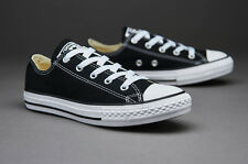 Converse Youth Chuck Taylor All Star Ox Sneakers Black New in Box Authentic