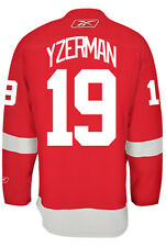 Steve Yzerman Detroit Red Wings Reebok Premier Home Jersey NHL Replica