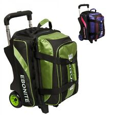 Ebonite Bowling Bag Equinox 2 Ball Scooter Double Roller
