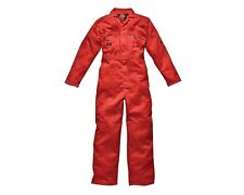 Dickies Overalls WD4839 Mens/Adult Redhawk Zip Front Work Overalls/Coverall