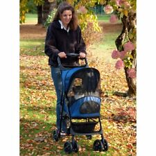 Pet Gear Cobalt Blue Happy Trails Pet Stroller