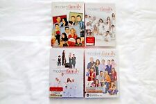 Modern Family Seasons 1-4, 1 2 3 4, One Two Three Four on Dvd, ABC New & Sealed!