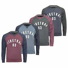 Firetrap Mens Sweatshirt Top Jumper Rumsey Crew Neck Summer Jumper
