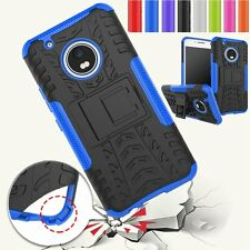 Tough Kickstand Strong Heavy Duty Shockproof Hard Case Cover For Motorola Moto