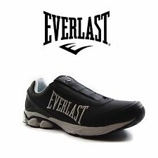 MENS EVERLAST FIRESTONE ATHLETIC SNEAKERS RUNNERS SHOES Black White