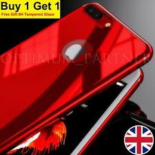 Ultra thin Case For iPhone 6s New Full Shockproof Back Hard Cover+Tempered Glass