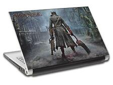 Bloodborne Personalized LAPTOP Skin Decal Vinyl Sticker ANY NAME L472