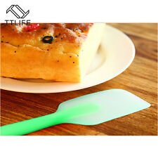 Scraper Butter Spatula Batter Mixing Cake Silicone Baking Cream Tool Brush New