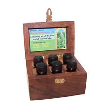 Aromatherapy kits in wooden box essential oils make great gift idea various kits