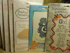 CROSS STITCH PRECIOUS MOMENTS DIMENSIONS GOLD COLLECTION CAREBEAR  VARIOUS KITS