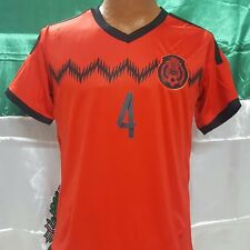 New! Red Jersey R. Marquez #4 Mexico  Soccer Jersey
