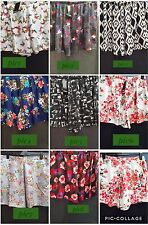 YOURS PLUS SIZE ELASTIC POLYESTER SHORTS WT POCKETS 16/18-28/30