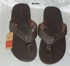 Dockers Mens Sandals Flip Flops Slip On Man Made Multi size XL NEW
