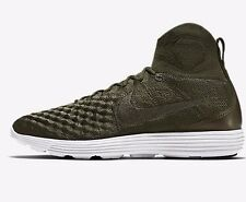 Nike LUNAR MAGISTA II FLYKNIT MEN'S SHOES, CARGO KHAKI- Size US 10.5, 11 Or 11.5
