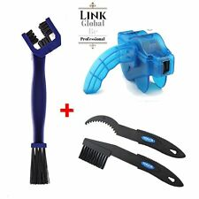 Bike Bicycle Cycling Chain Wheel Cleaning Brushes Wash Cleaner Scrubber Tool Set