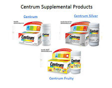 3 Type of Centrum Complete from A to Zinc Dietary Supplement for Men & Women & C