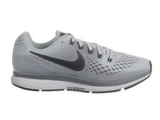 NEW WOMENS NIKE AIR ZOOM PEGASUS 34 RUNNING SHOES TRAINERS PURE PLATINUM / ANTHR