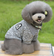 Pet Suit Gentleman Small Dog Pet Clothes Puppy Coats Jackets Teddy Shirts Prince