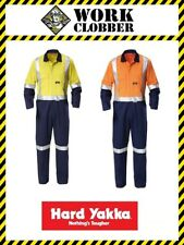 Hard Yakka Hi-Vis Two Tone Taped Coverall New With Tags! (Shop Soiled)