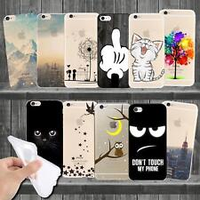 Case for Apple iPhone Cover Case Case Motif Slim Silicone TPU