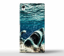 Shark With Muscles - Hard Case Cover Fits Sony Xperia Z Models