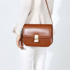 New leather HandBag Shoulder Women bag brown black hobo tote purse designer laJJ