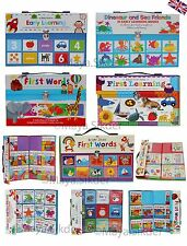 Baby's Early Learning Work books Fun Educational Pre School Toy Gift Set Kids