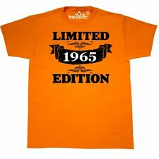 Inktastic Limited Edition 1965 With Banner And Year Of Birth T-Shirt Birthdays