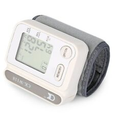 Convenient Accurate Wrist Blood Pressure Pulse Monitor Digital Sphygmomanometer