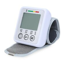 Wrist Blood Pressure Pulse Monitor Health Care Digital Upper Sphygmomanometer
