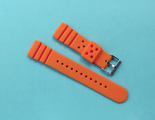 Silicone Rubber Watch Straps 20,22,24mm UK Seller