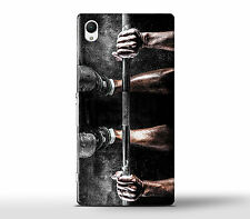 Lifting Weights Muscles Fitness Fan Hard Case Cover Fits Sony Xperia Z Models