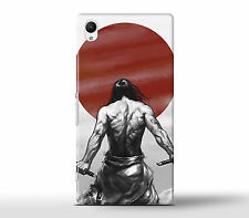 Muscle Muscles Japanese Samurai Hard Case Cover Fits Sony Xperia Z Models