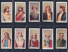 Cigarette cards. Wills Kings & Queens (long, Wills at base) - choose your number