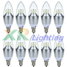 10x E12 (Candelabra) Dimmable 10W 14W SMD Share LED Chandelier Bulb Light 110V