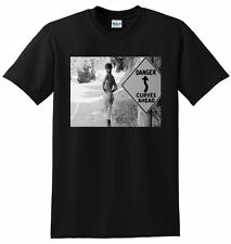 JAMIE LEE CURTIS T SHIRT young 80s photo poster tee S M L or XL adult sizes