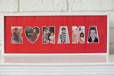 I Love Nana Photo Collage Picture Frame Family Photos Mother's Mom Gift Idea