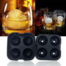 Whiskey Silicon Ice Cube Ball Maker Mold Sphere Mould Party Tray Round Bar AO