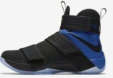Nike ZOOM LEBRON SOLDIER-10 SFG MEN'S SHOES,BLACK/ROYAL- US 11, 11.5, 12 Or 12.5